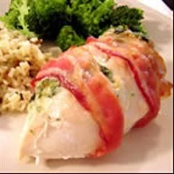 Stuffed and Wrapped Chicken Breast Recipe