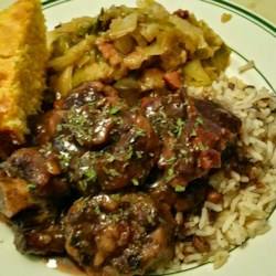Braised Oxtails in Red Wine Sauce Recipe