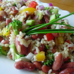 Nutty Brown Rice Salad Recipe
