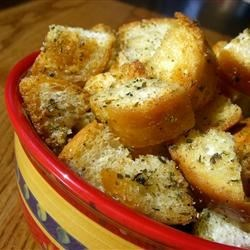 Photo of Yummy Garlic Croutons by vulpecula