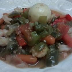 Louisiana Shrimp and Eggs Gumbo Recipe