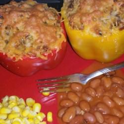 Dila's Chicken-Stuffed Peppers Recipe