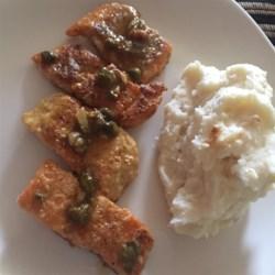 Lemon Piccata Whitefish Recipe
