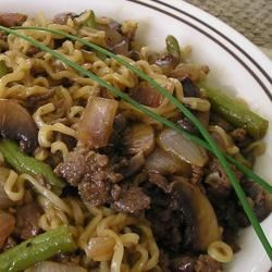 Gel's Green Beans and Beef Recipe