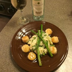 Buzzard's Bay Bourbon Scallops Recipe