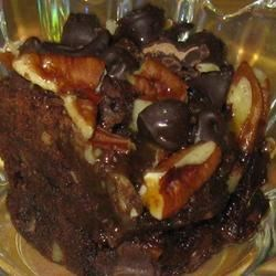 Double Chocolate Walnut Brownies Recipe