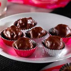 RICE KRISPIES(R) Chocolate Peanut Butter Balls