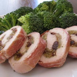 Prosciutto-Wrapped Cherry-Stuffed Chicken Breasts