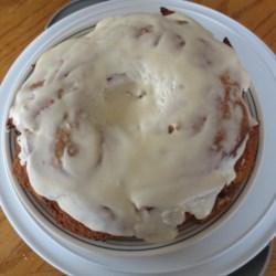 Autumn Apple Blender Cake