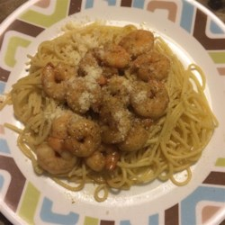 Win's Shrimp and Spaghetti Recipe