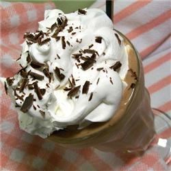Cafe Latte Milkshake Recipe