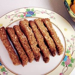Ginger Biscotti with Pistachios Recipe