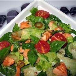 Thai Salmon Salad Recipe