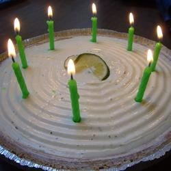 Birthday Key Lime Pie