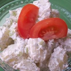Dill Sour Cream Potato Salad Recipe