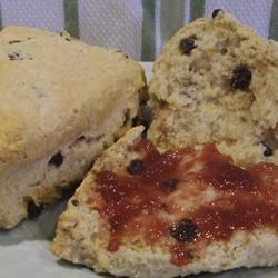 Oatmeal-Currant Scones Recipe
