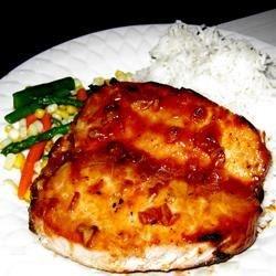Photo of Orange-Glazed, Pork Tenderloin with Italian Seasoning by USA WEEKEND Pam Anderson