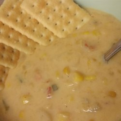 Crawfish and Corn Soup Recipe