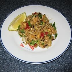Chinese Chicken Rice Salad