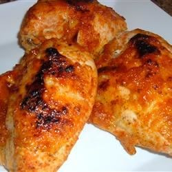 Chicken with Plum Glaze Recipe