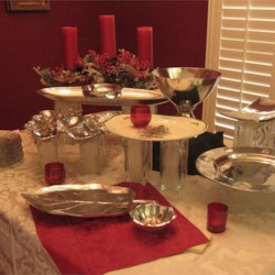 Christmas Buffet Table