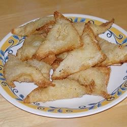 Cream Cheese Won Tons Recipe