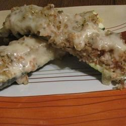 Seafood Stuffed Zucchini Recipe