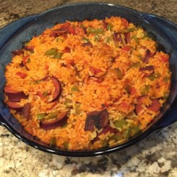 Red Rice and Sausage Recipe
