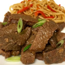 mongolian beef from the slow cooker printer friendly