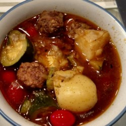 Chef John's Sausage, Zucchini, and Potato Stew  Recipe