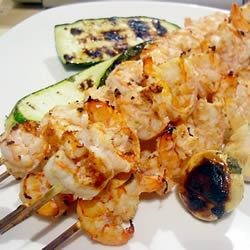 Big M's Spicy Lime Grilled Prawns |