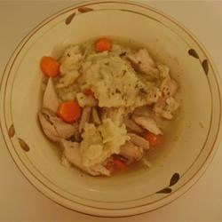 Photo of Old Fashioned Chicken and Dumplings by Karena