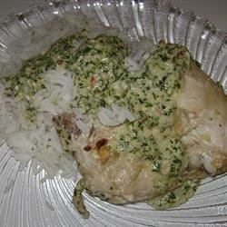 Cilantro Chutney Chicken Recipe