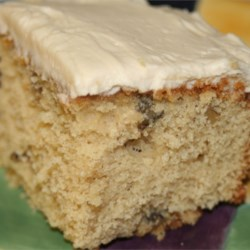 Maple Nut Cake with Maple Icing