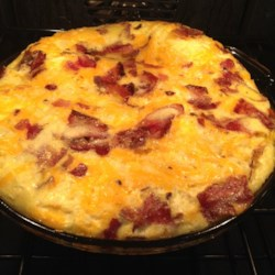 Bacon Cheese Frittata Recipe