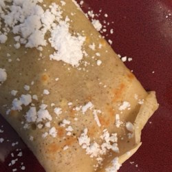 Yummy Apple Cinnamon Crepes Recipe