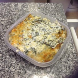 Healthier Hot Artichoke and Spinach Dip II Recipe