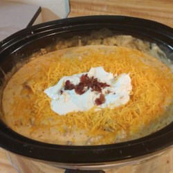 Nikki's Creamy Crock Pot Potato Soup Recipe