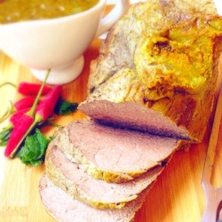 Slow-Cooked Beef Loin Tri-Tip Roast