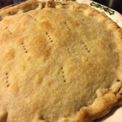 Crust for Veggie Pot Pie Recipe