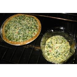 Eggless Tofu Spinach Quiche Recipe