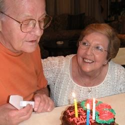 Larry's 75th Birthday Cake
