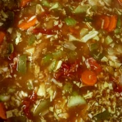 Fat-Free Vegetable Soup Recipe