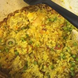 Chicken with Rice (Arroz con Pollo)