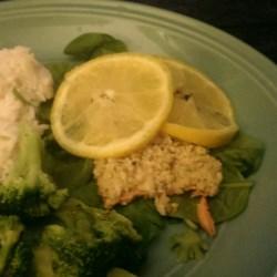 Lemon Panko Crusted Salmon Recipe