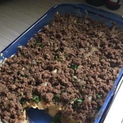 Hummus Casserole