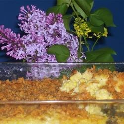 Old-Fashioned Scalloped Corn Recipe