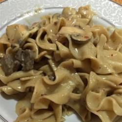 Elegant Beef Stroganoff Recipe
