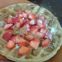 Whole Wheat Coconut Oil Waffles Recipe