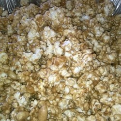Caramel Popcorn with Marshmallow Recipe